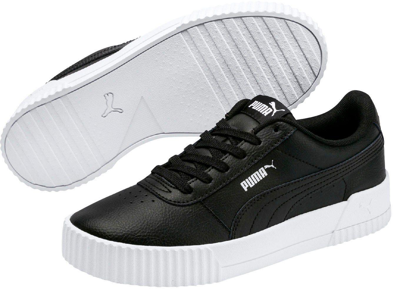 PUMA »CARINA L« Plateausneaker, Schlichter Sneaker von PUMA
