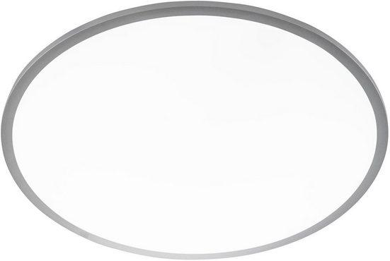 WOFI LED Deckenleuchte »LINOX«, dimmbar mittels Fernbedienung