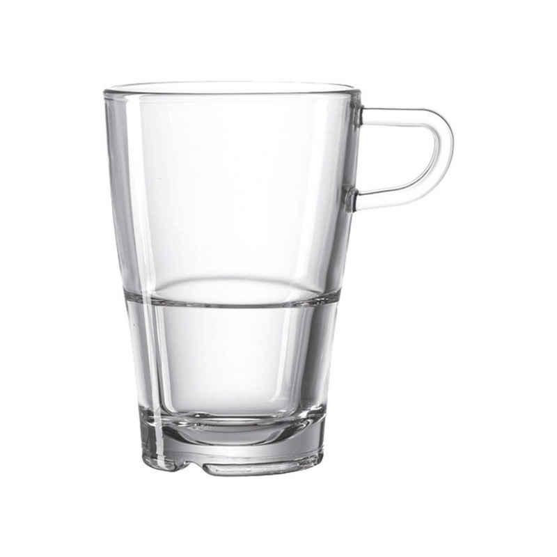 LEONARDO Latte-Macchiato-Glas »Senso 230 ml«, Glas