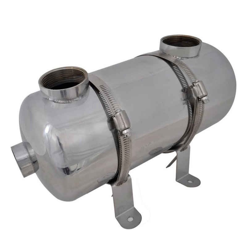 vidaXL Pool-Filterkartusche vidaXL Pool Wärmetauscher 355 x 134 mm 40 kW/485 x 134 mm 60 kW / 613 x 134 mm 75 kW