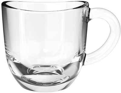 LEONARDO Espressotasse »NAPOLI«, Glas, 80 ml, 6-teilig