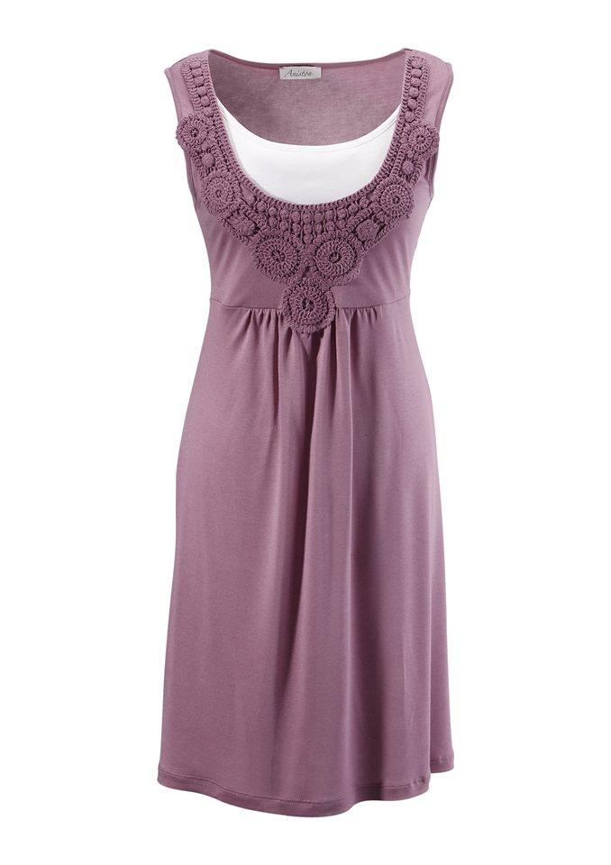 Aniston Jerseykleid in flieder