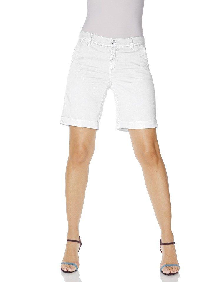 Shorts in weiß