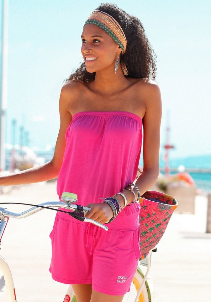 Venice Beach Overall in pink