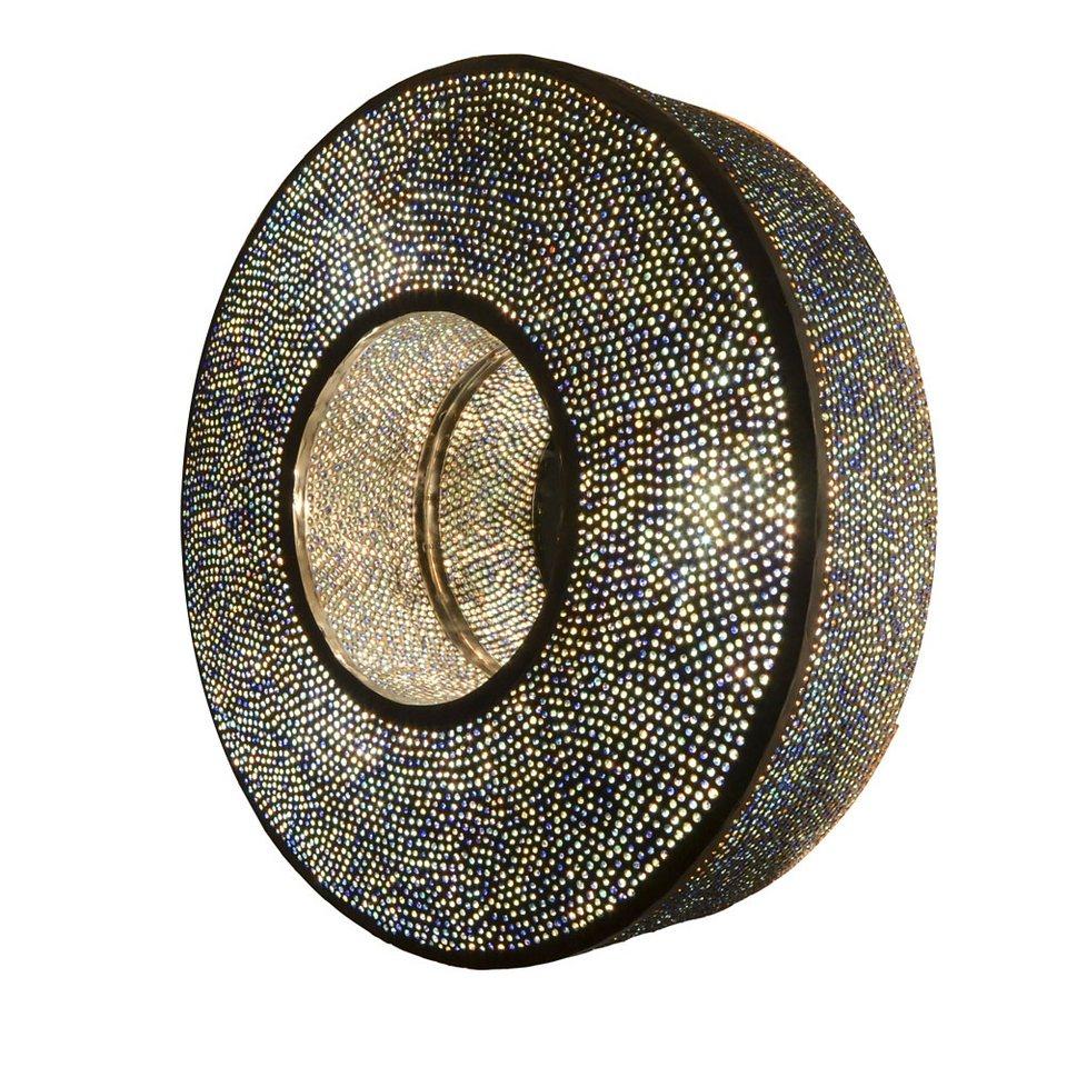 s luce wandleuchte orientleuchte orient spiegel henna 66cm silber blau online kaufen otto. Black Bedroom Furniture Sets. Home Design Ideas