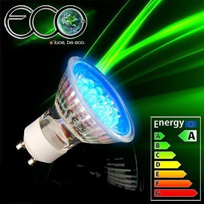 s luce led leuchtmittel eco gu10 230v 1 2w blau otto. Black Bedroom Furniture Sets. Home Design Ideas