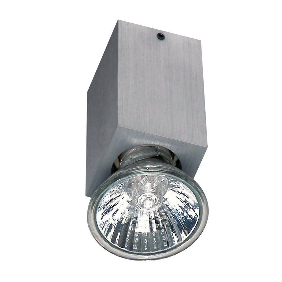 S luce deckenleuchte strahler bloc 1 flammig eckig for Deckenleuchte strahler
