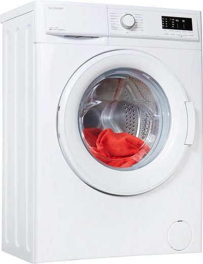 Sharp Waschmaschine ES-HFA6122W2-DE, 6 kg, 1200 U/Min