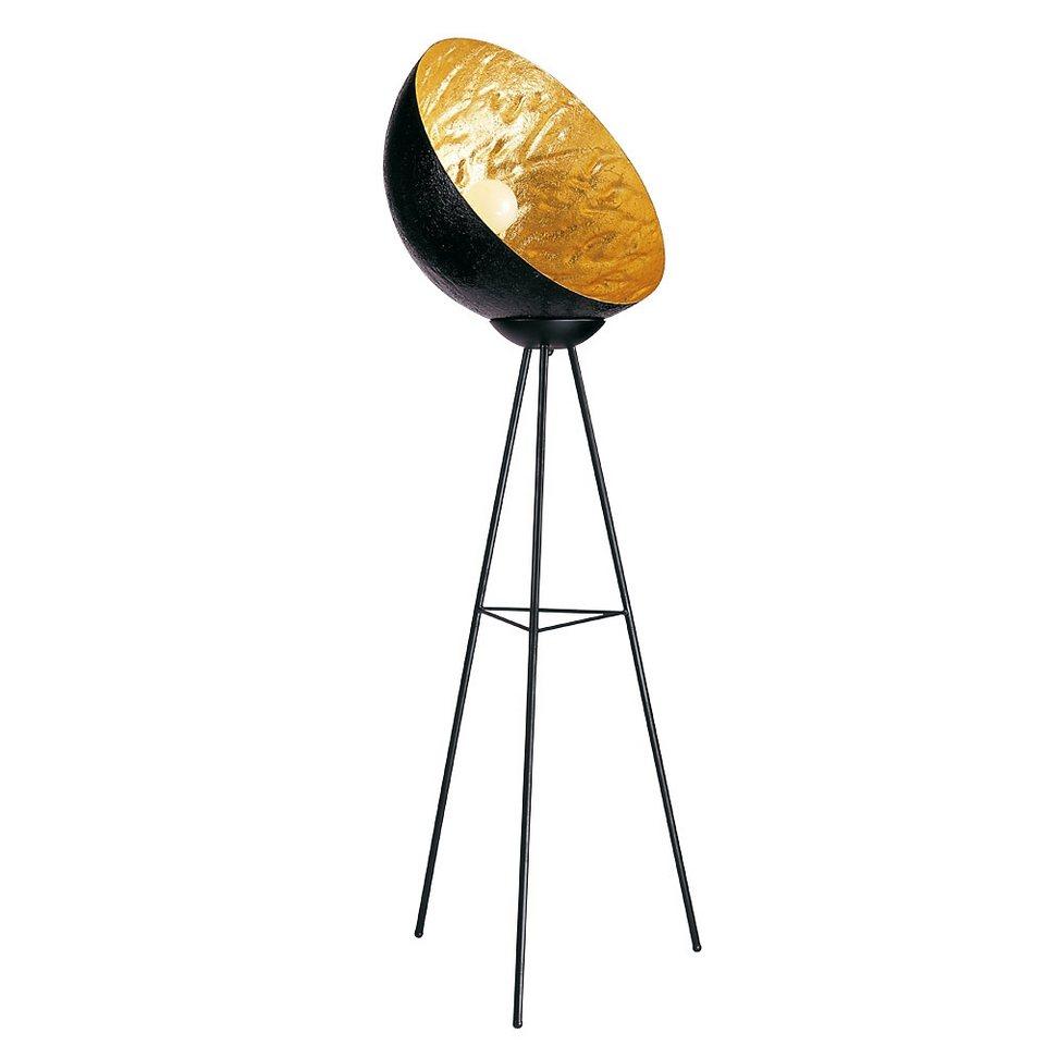 s luce stehleuchte dreibein blister 160cm 55cm schwarz goldfarben online kaufen otto. Black Bedroom Furniture Sets. Home Design Ideas