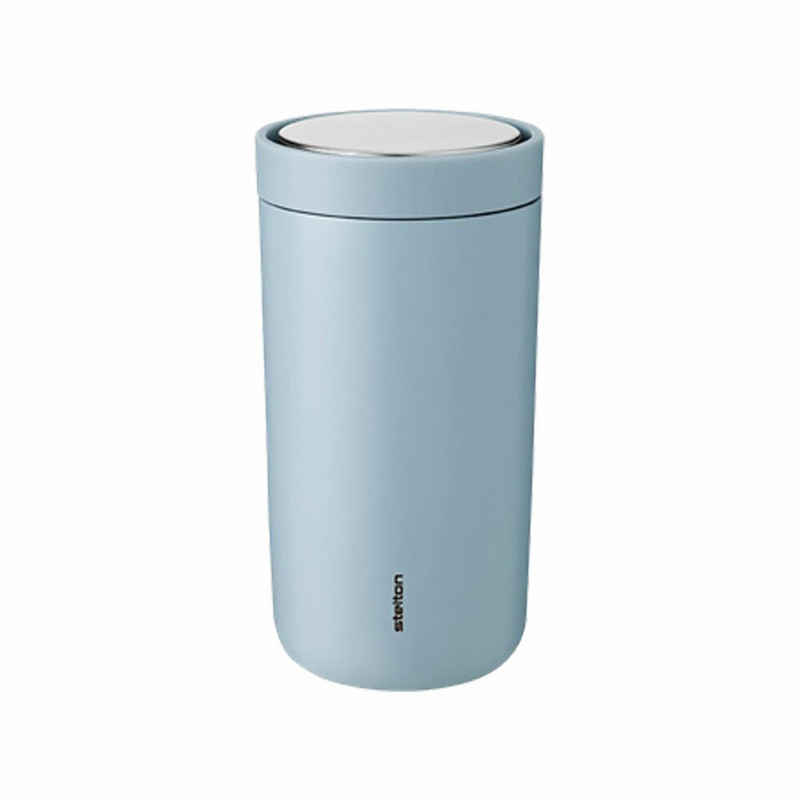 Stelton Coffee-to-go-Becher »To-Go Click soft cloud 200 ml«, Stahl