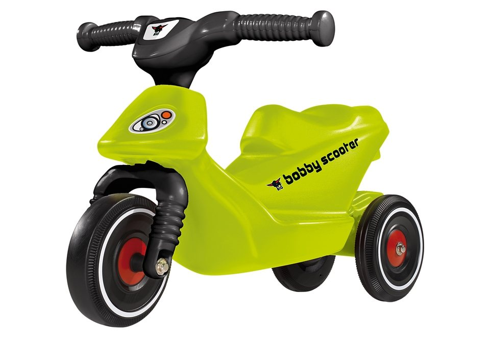 BIG Laufrad/Dreirad, »BIG-BOBBY-SCOOTER RACING« in grün