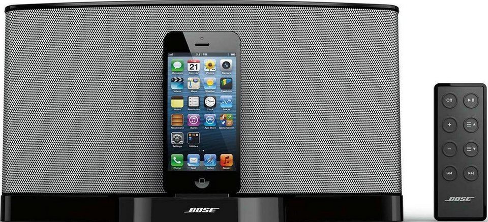 Bose® SoundDock® Serie III Digital Music System in schwarz
