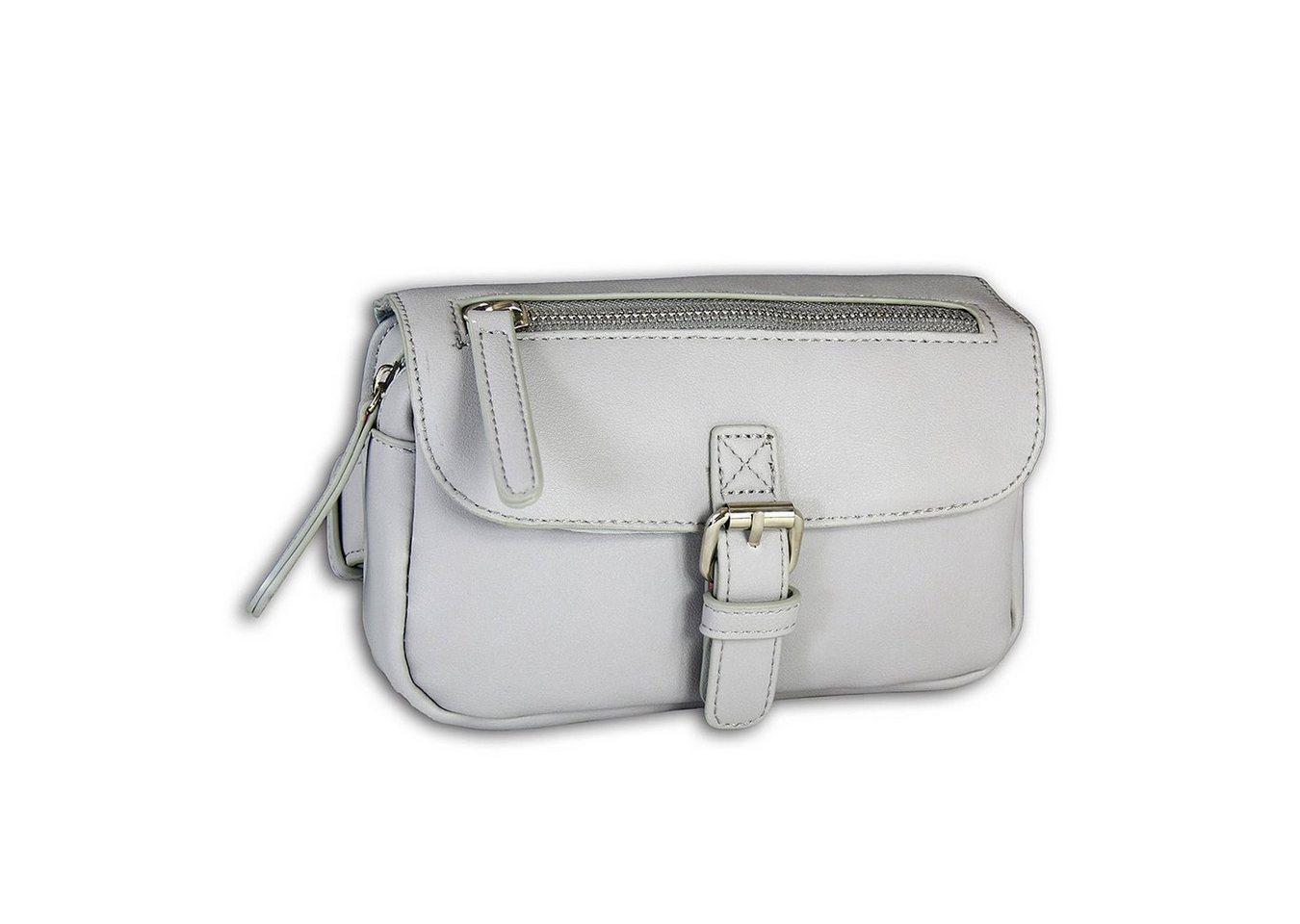 new bags -  Gürteltasche »OTD5024X  Damen Hüfttasche eckig« (Gürteltasche), Jugend, Damen Tasche grau, ca. 19cm x ca. 5cm