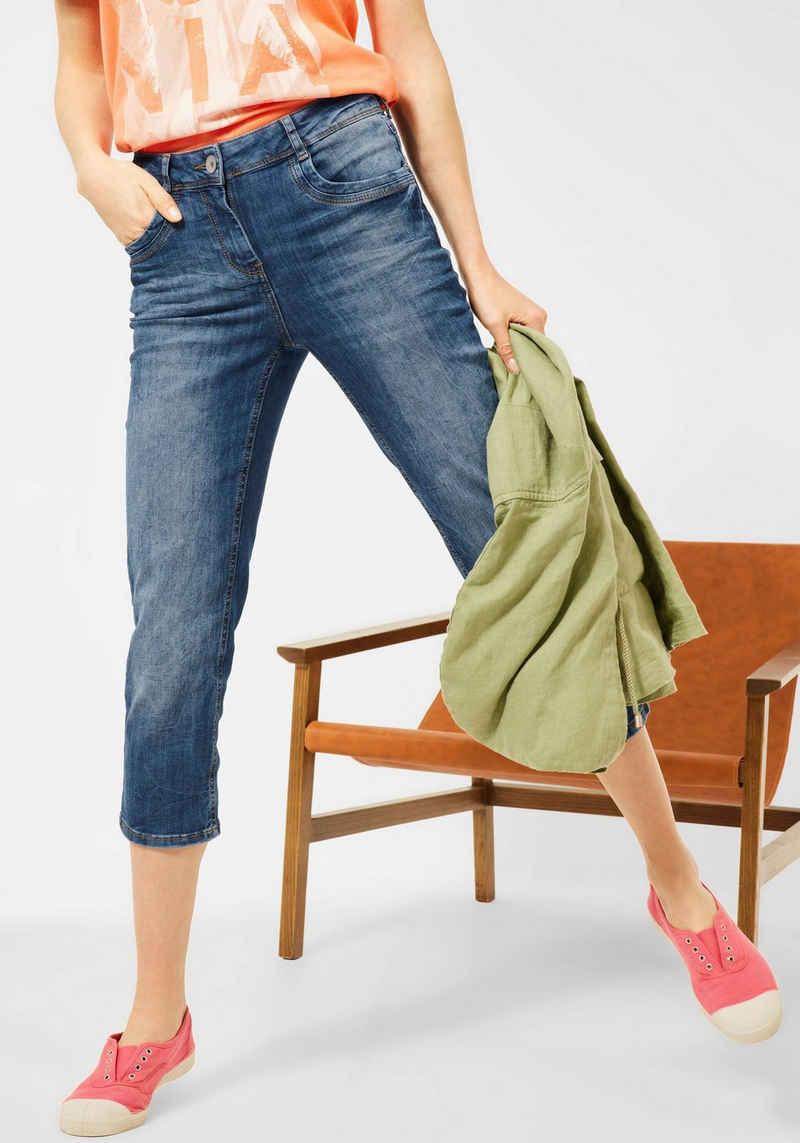 Cecil 3/4-Jeans »Style Toronto« in Strech-Qualität