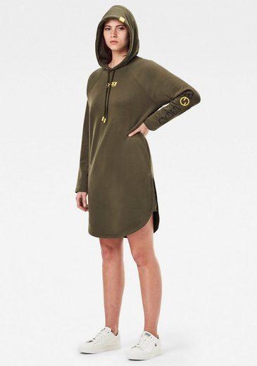 G-Star RAW Sweatkleid »Sleeve Print Hooded Sweatkleid« mit einem Grafikprint am linken Ärmel gestaltet