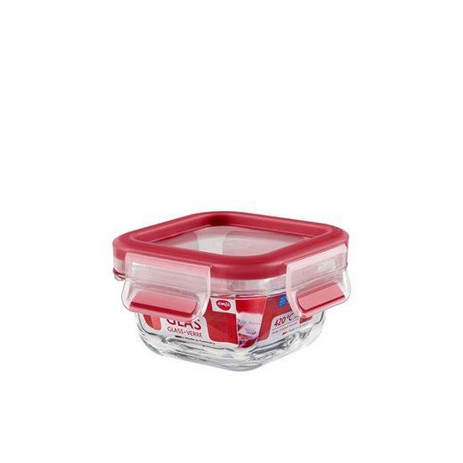 Emsa Frischhaltedose »Frischhaltedose, 0,20 Liter Clip Close Glas«, Glas, (1-tlg)