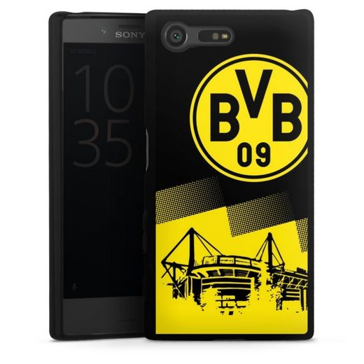 DeinDesign Handyhülle »BVB Two Tone« Sony Xperia X Compact, Hülle BVB Borussia Dortmund Stadion