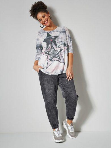 Angel of Style by HAPPYsize Jogg Pants mit Tunnelzug