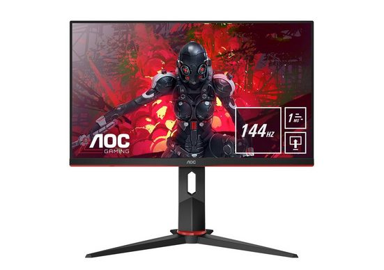 "AOC 24G2U/BK Gaming-Monitor (60 cm cm/24 "", 1920 x 1080 Pixel, Full HD, 1 ms Reaktionszeit, 144 Hz)"