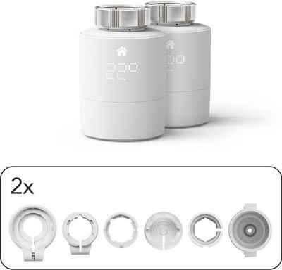 Tado Heizkörperthermostat »Smartes Heizkörper Thermostat - Duo Pack, Zusatzprodukte für Einzelraumsteuerung (Universal)«, (1 St)