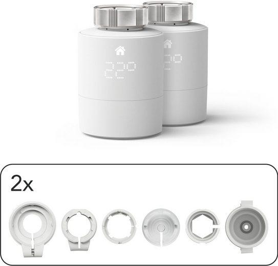 Tado »Smartes Heizkörper Thermostat - Duo Pack, Zusatzprodukte für Einzelraumsteuerung (Universal)« Smartes Heizkörperthermostat
