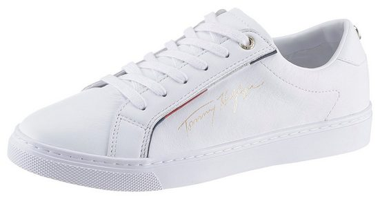 TOMMY HILFIGER »TOMMY HILFGER SIGNATURE SNEAKER« Sneaker mit farbiger Paspelierung