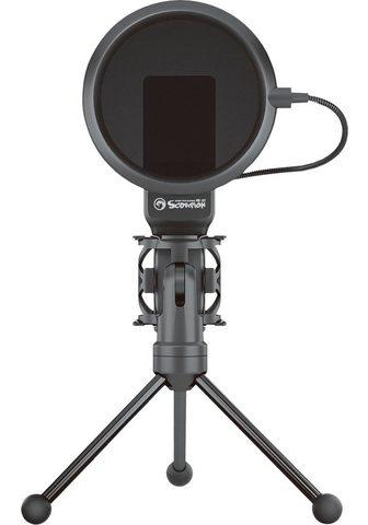 MARVO Streaming-Mikrofon »MIC-03« (1-tlg) US...