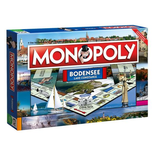 Winning Moves Spiel, Brettspiel »Monopoly Bodensee«