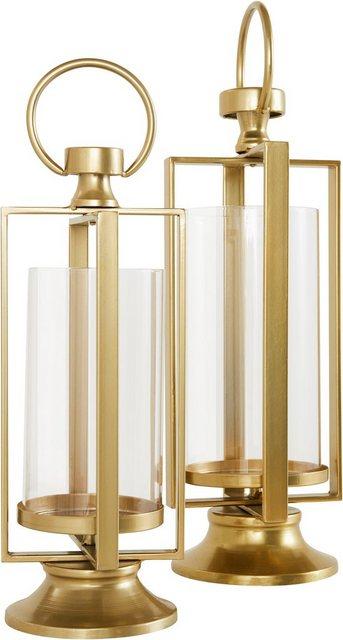 Leonique Windlicht (Set| 2 Stück) | Dekoration > Kerzen und Kerzenständer > Windlichter | Leonique