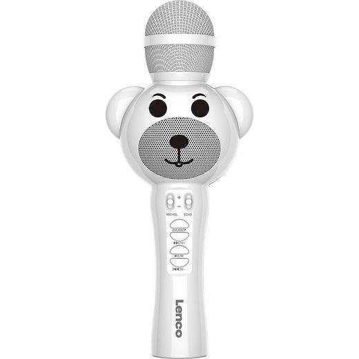 Lenco »BMC-060WH - Kinder Karaoke-Mikrofon mit« Stereoanlage