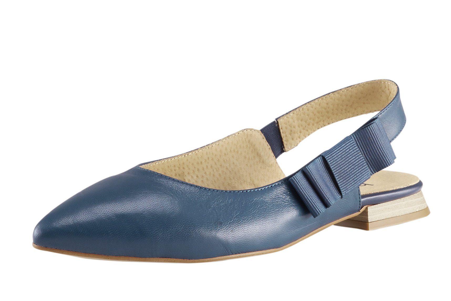 heine Slingballerina mit Zierschleife, Aus softem Ziegen Nappaleder online kaufen | OTTO