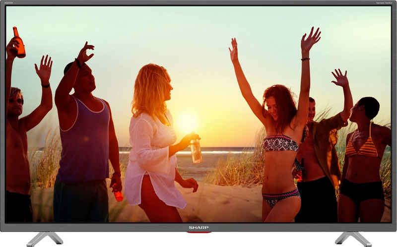 Sharp 4T-C43BLx LED-Fernseher (108 cm/43 Zoll, 4K Ultra HD, Smart-TV, Android TV)