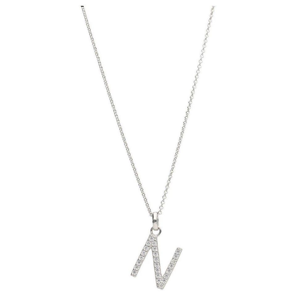 Halskette mit Hanfblatt Anhänger ca 27 cm lang verstellbar