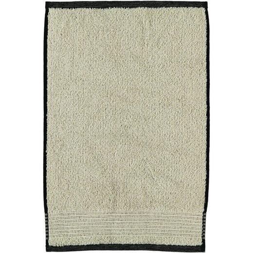 Möve Handtücher »Eden Melange mit Biesenbordüre«