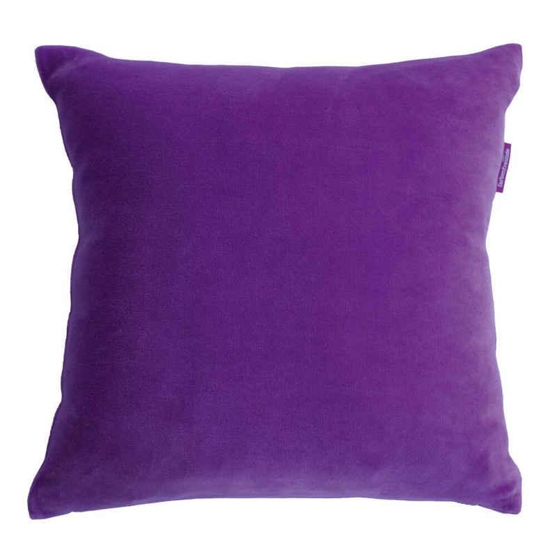 Kissenhülle »Eckig Ultra Violet 50 x 50 cm«, Farbenfreunde (1 Stück)