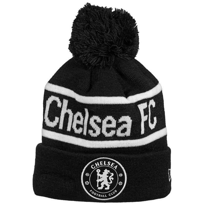 New Era Beanie »Fc Chelsea Wordmark Cuff Knit Bobble«