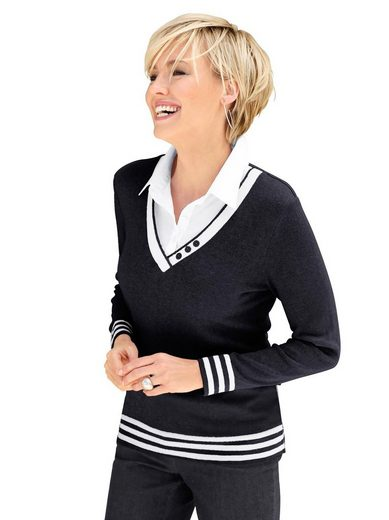 Casual Looks 2-in-1-Pullover