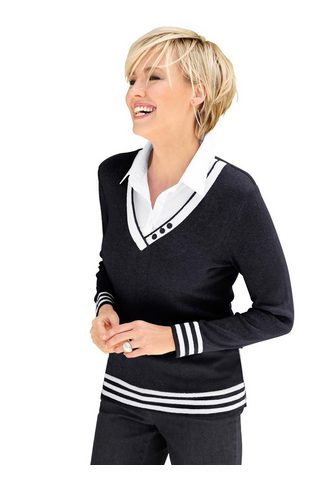 Casual Looks Megztinis »2-in-1-Pullover«