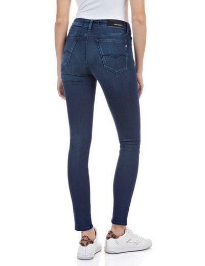 Replay Skinny-fit-Jeans »Luzien« Powerstretch-Denim - Highwaist