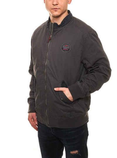 Rhode Island Blouson »Rhode Island Freizeit-Jacke angesagte Herren Blouson-Jacke in Used-Optik Übergangs-Jacke Grau«