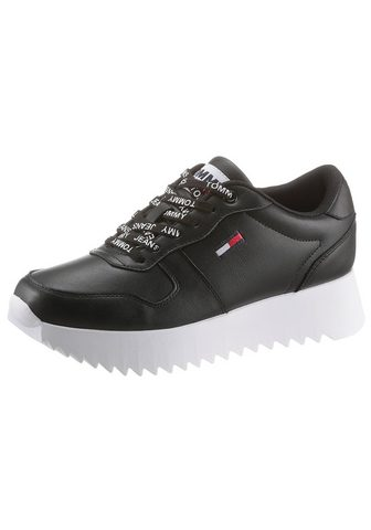 TOMMY JEANS TOMMY Džinsai »HIGH CLEATED LEATHER SN...
