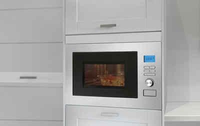BOMANN Einbau-Mikrowelle MWG 3001 H EB, Mikrowelle, Grill, Heißluft, 25 l