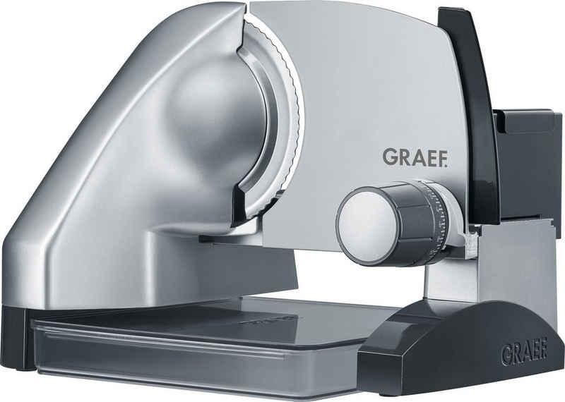Graef Allesschneider SlicedKitchen SKS 500, 170 W, inkl. Aufbewahrungsbox & MiniSlice-Aufsatz