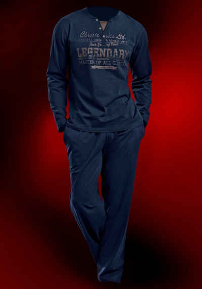 H.I.S Jersey-Pyjama lang Sale Angebote Griesen