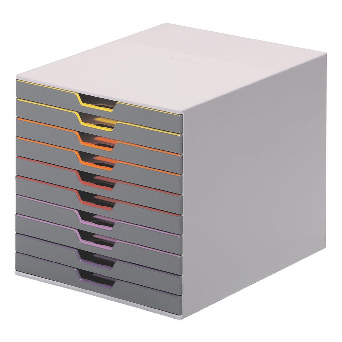 Durable Schubladenbox »Varicolor 10«