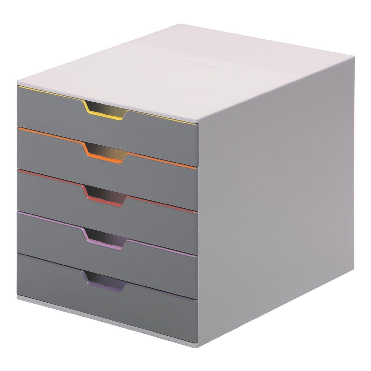 Durable Schubladenbox »Varicolor 5«
