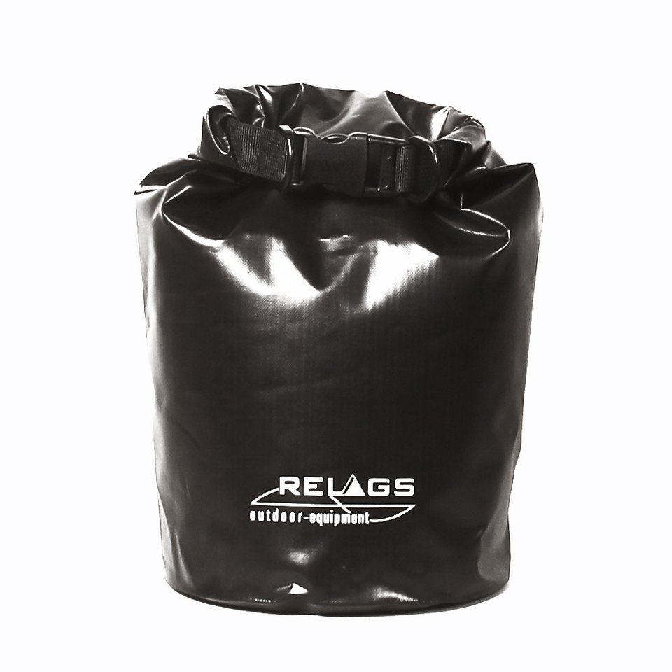 Relags Sport- und Freizeittasche »Packsack 6L« in schwarz