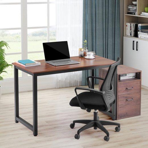 Merax Schreibtisch, Computertisch Arbeitstisch PC-Tisch