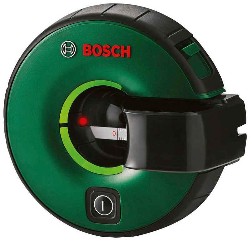 Bosch Powertools Linienlaser »Atino«, (Packung, 1 St), Manuelles Nivelliergerät kombiniert mit einem Maßband