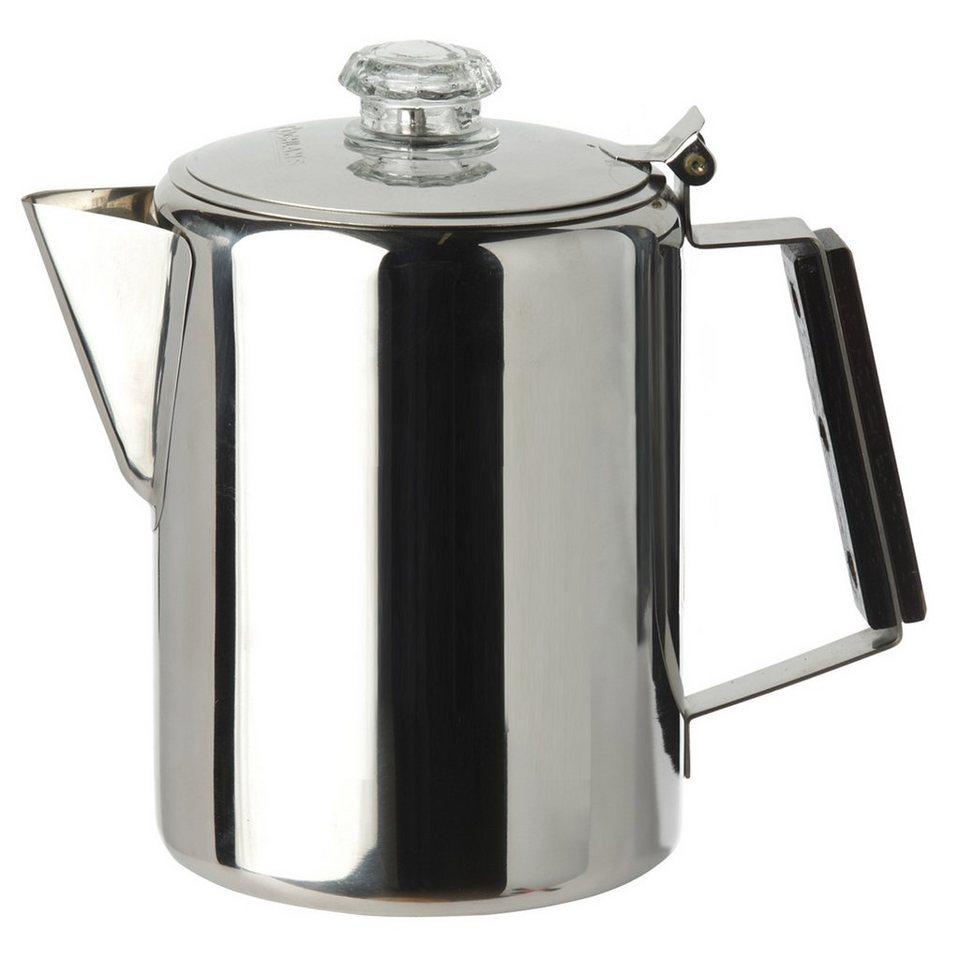 Coghlans Camping-Geschirr »Coffee Pot Edelstahlkanne 9 Tassen« in grau